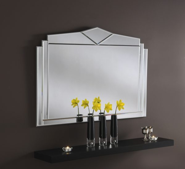 Timeless Overmantle Mirror