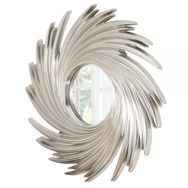 Richmond Swirl Sunburst Mirror
