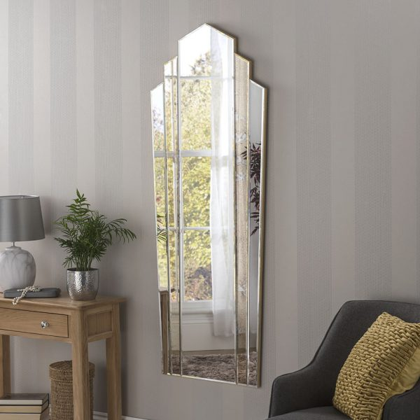 Cambridge Full Length Antique Mirror