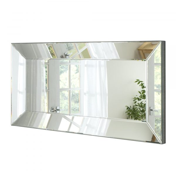 Splendor Full Contemporary Boxed Mirror