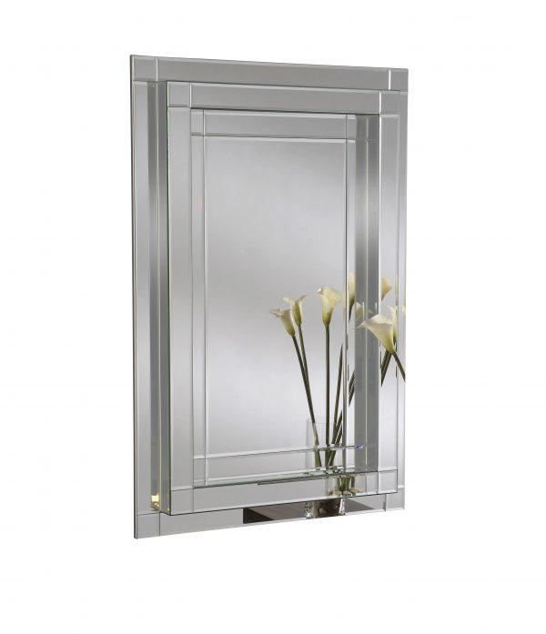 Cecilia Box Style Frame Mirror
