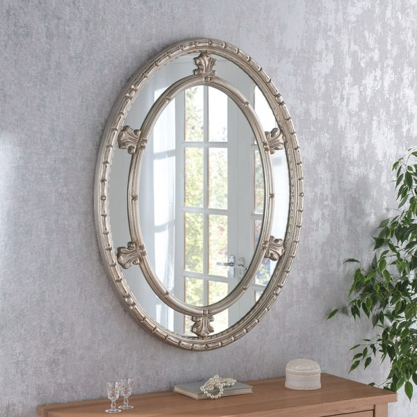Clement Decorative Oval Mirror