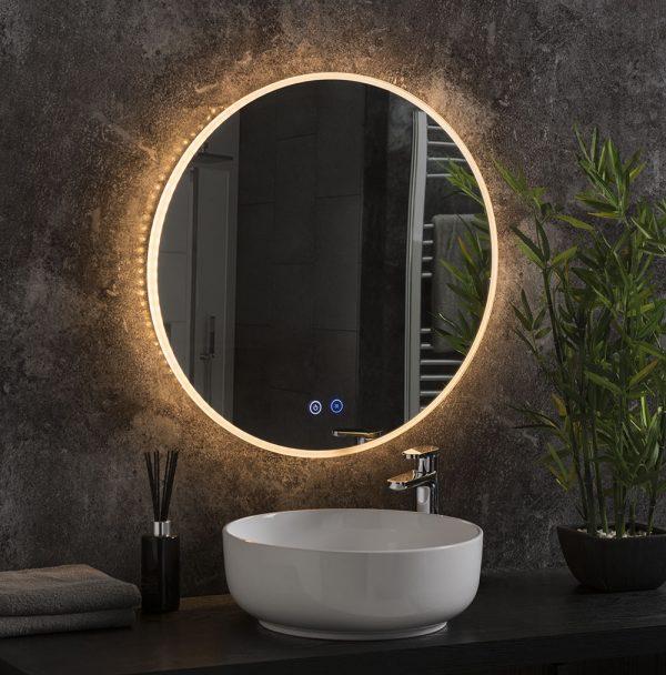 Alaska round mirror