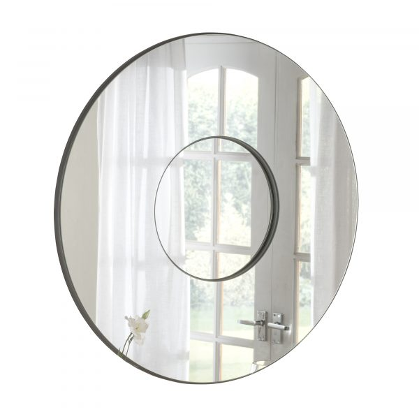 Large Contemporary Round mirror