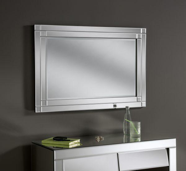 Black velvet frame