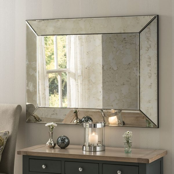 Vanessa Concave Antique Mirror