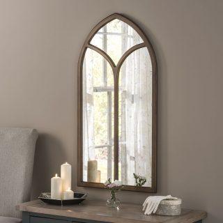 Hamstead Antique Window Mirror