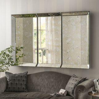Kensington Antique panel Mirror