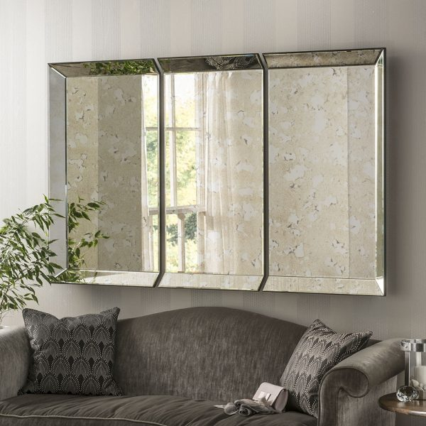 Kensington Antique panel Mirror