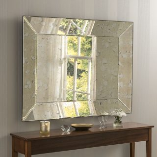 Corby Angled antique Mirror