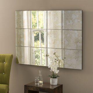 Belgravia Antique panel Mirror