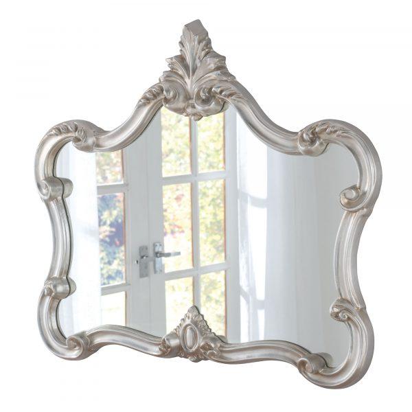 Small Mantel Ornate Mirror