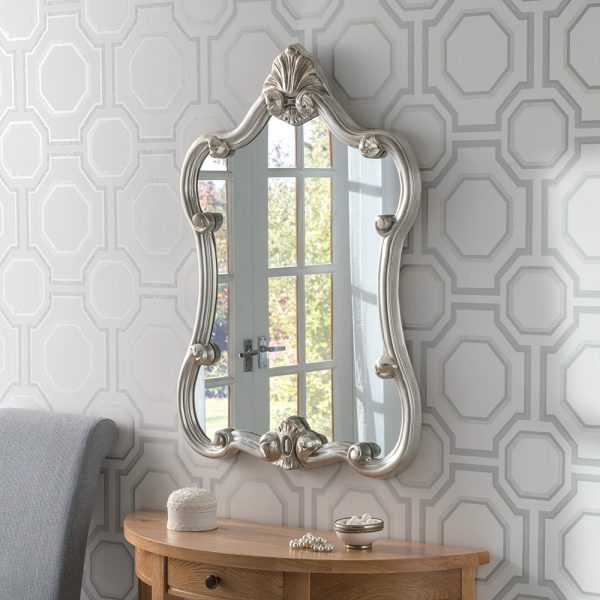Beverley Portrait Ornate Mirror