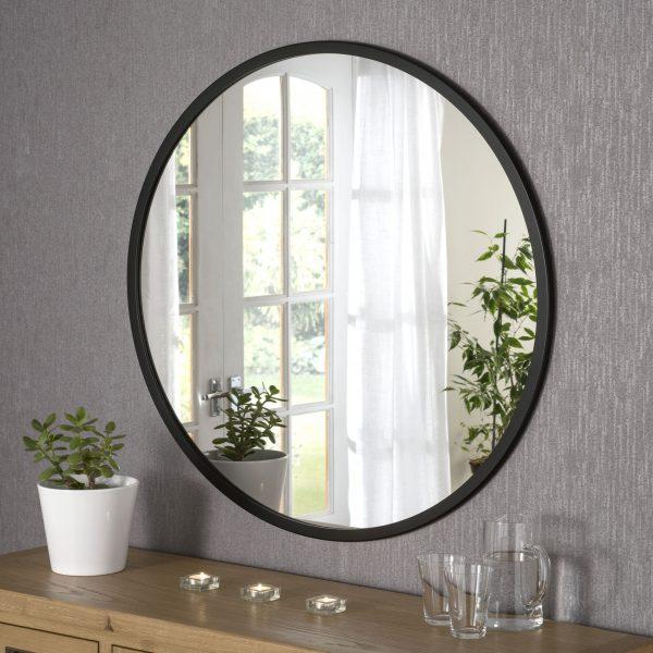 Sloane Minimal Round Mirror