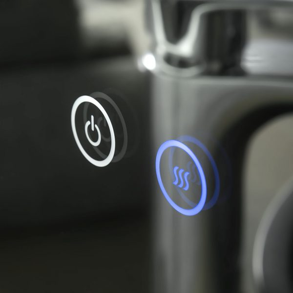 Touch button for light setting