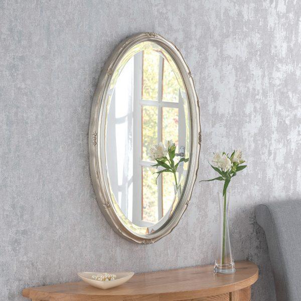 Belvine Classic Oval Mirror