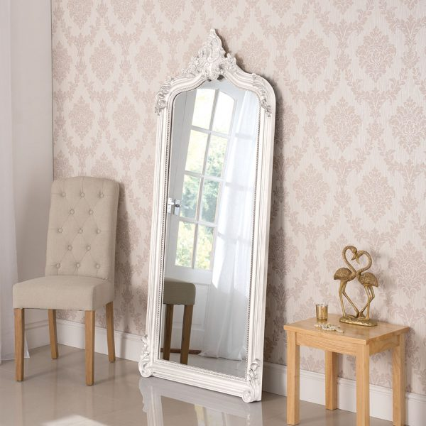 large traditional mirror