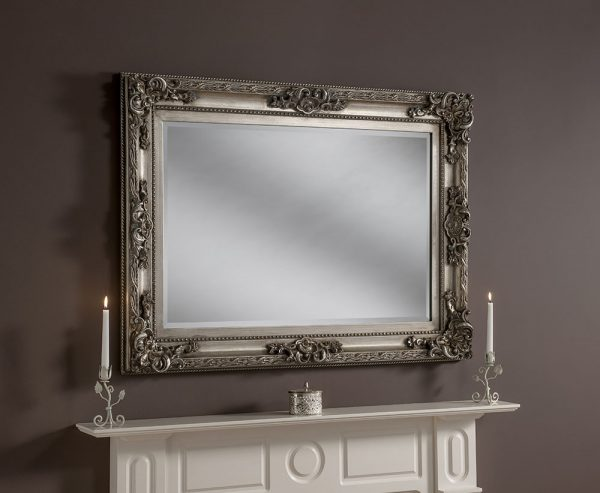 Traditional Rectangular Mirror