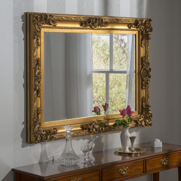Daina Traditional Rectangular Mirror
