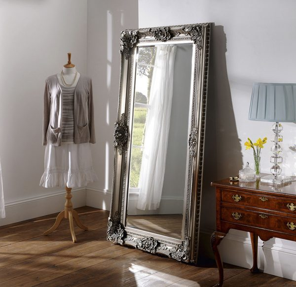 Barclay Full Length Traditional Leaner Mirror