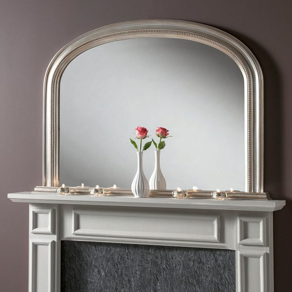 large overmantle mirror