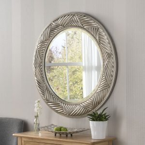 Abstract Framed Mirror