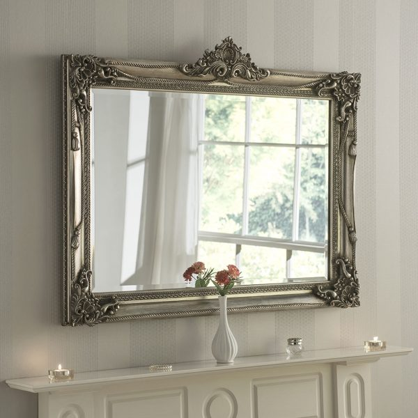 Packston Rectangular Traditional Mirror