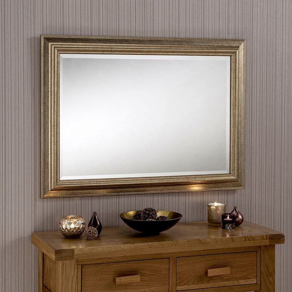 Calvert Rectangular Framed Mirror