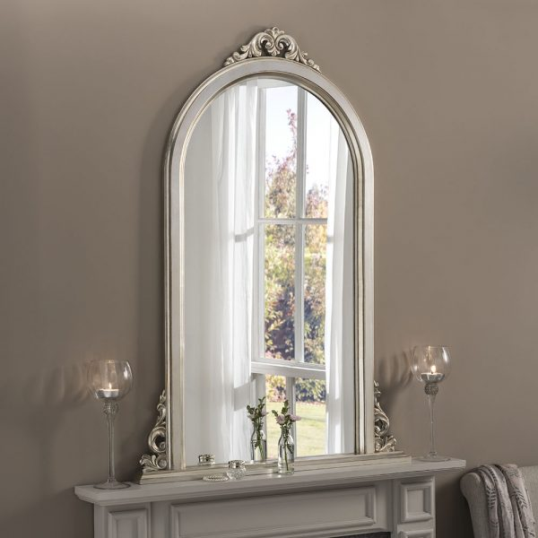 Perley Overmantle Mirror
