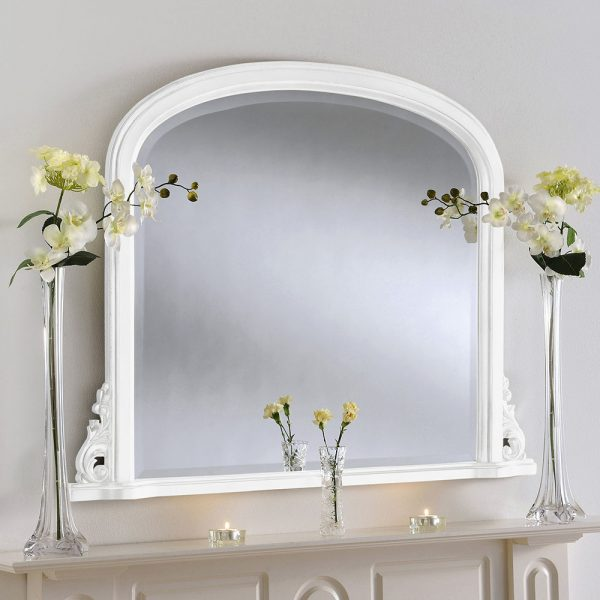 Tutbury Overmantle Mirror