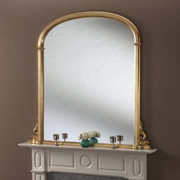 Classic mantel mirror