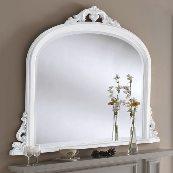 Willow Overmantle Mirror