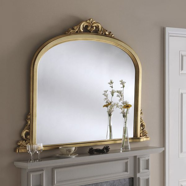 Overmantle Mirror
